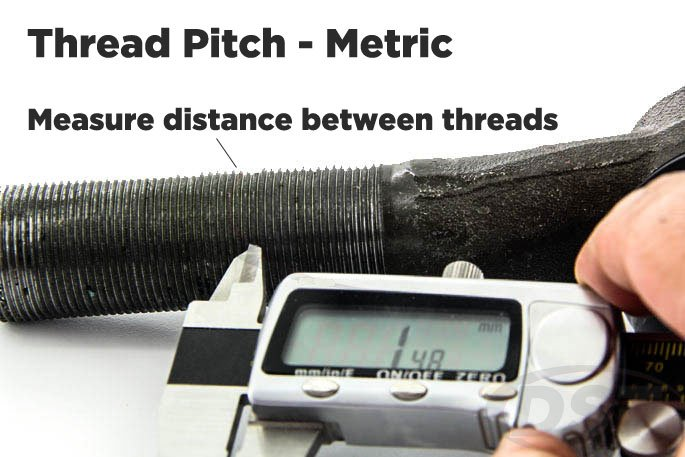 tie rod thread pitch mm
