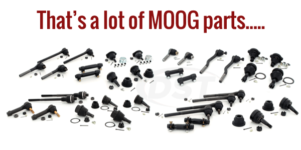 Moog Front End Steering Rebuild Kit
