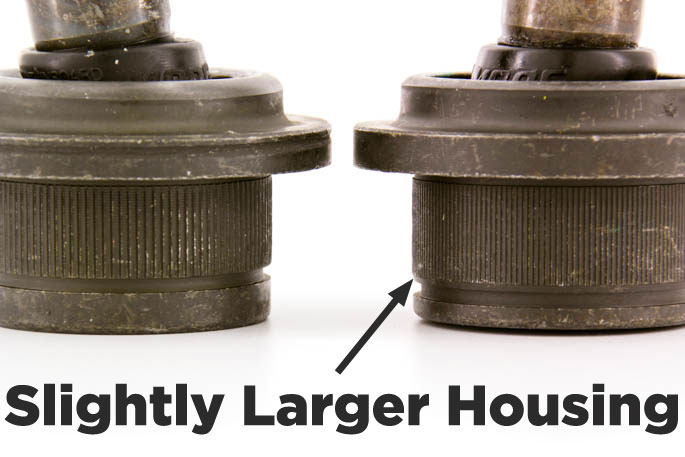 oversized f150 and explorer ball joint replacement