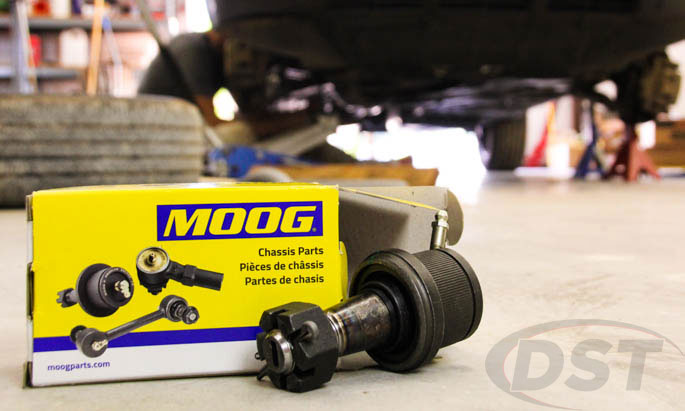 moog ball joint front upper