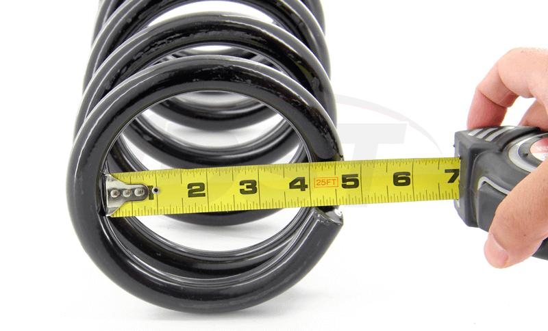 Moog Universal Coil Springs Inner Diameter