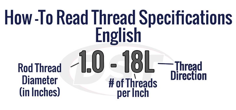 english tie rod end measurements