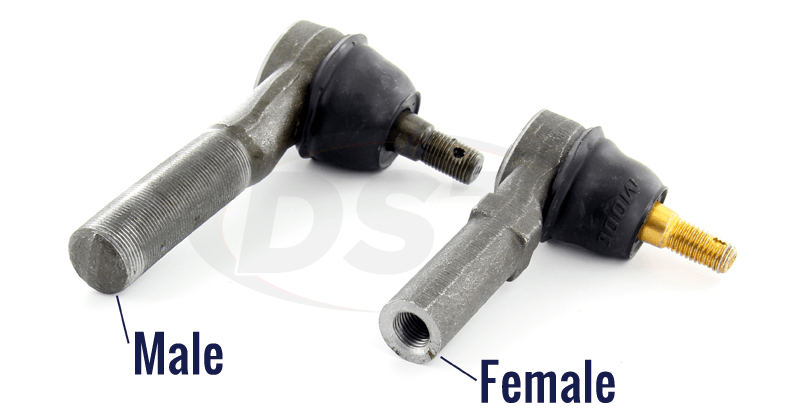Universal Outer Tie Rod Ends by Size from Moog