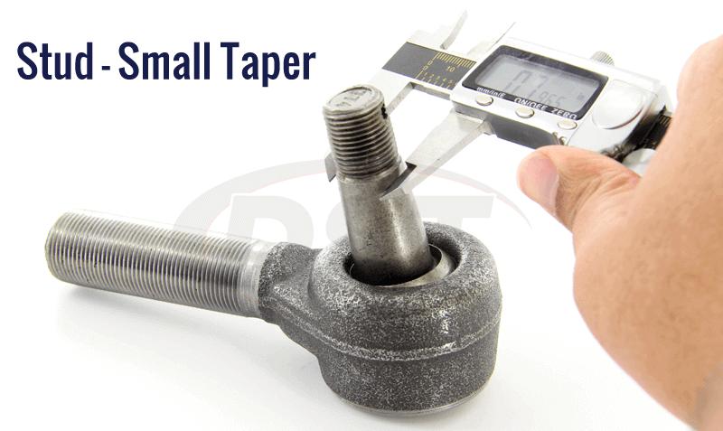 small stud taper measurement