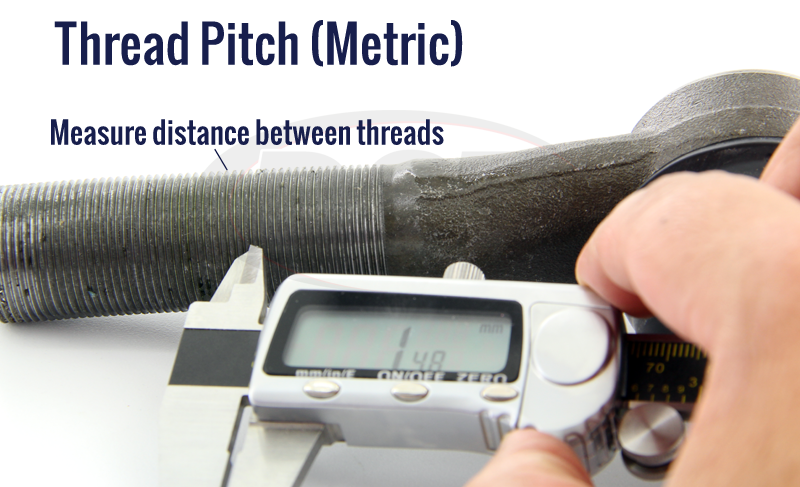 tie rod thread pitch mm