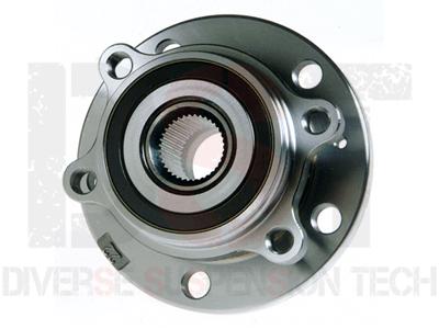 Moog Rear Wheel Bearing and Hub Assemblies for A3 Quattro, Q3 Quattro, TT Quattro, CC, Passat, R32, Tiguan