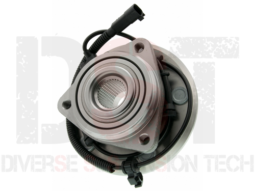 Jeep Wrangler JK 2008 Front Wheel Bearing and Hub Assembly