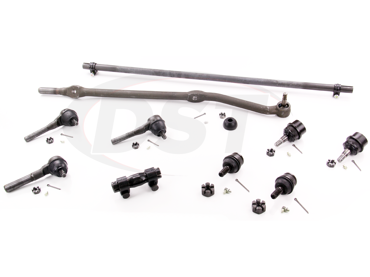 Front End Steering Rebuild Kit Jeep Cherokee 91 01 Schematic