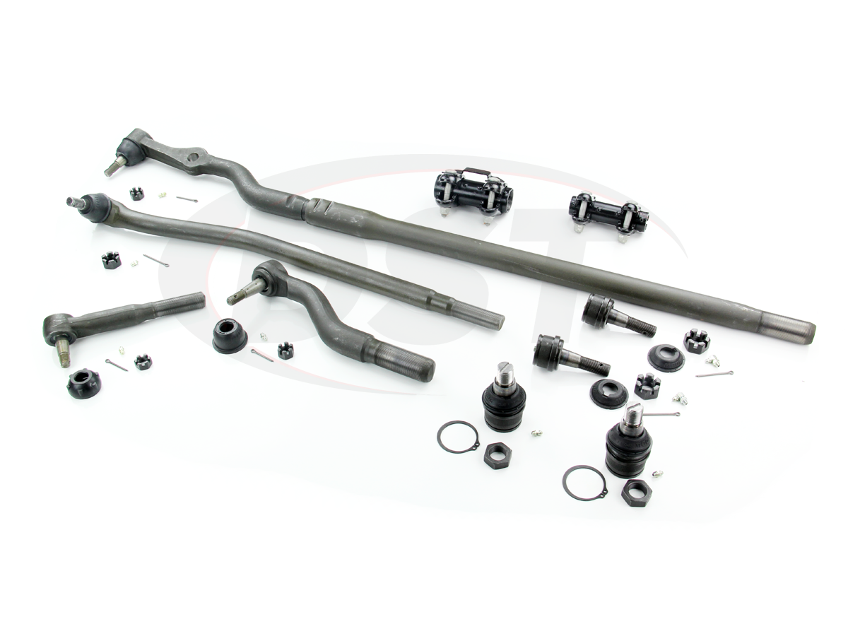 Front End Steering Rebuild Kits For The Ford F450 Super Duty