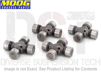 moog-ujoint-packagedeal018 U Joint Package - Chevrolet LUV 79-82 4WD