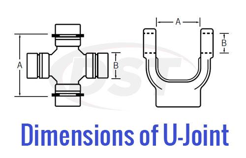 U Joint PTO Measure 1
