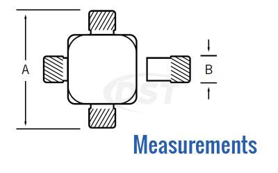 End Yoke Measure 1