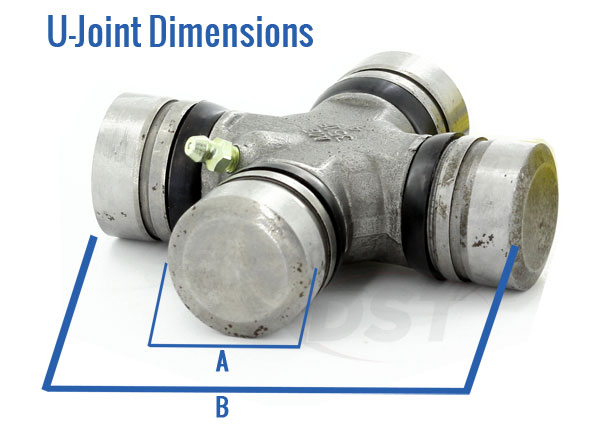 Moog U Joints Dimensions